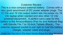 BiXPower 153 Wh (42500mAh) Super High Capacity 12V & 19V External Rechargeable Battery Pack - BiXPower BP160 Review