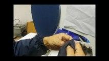 Ultrasons machine à coudre que les phoques et les coupures