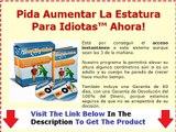 The Aumentar La Estatura Para Idiotas Real Aumentar La Estatura Para Idiotas Bonus + Discount