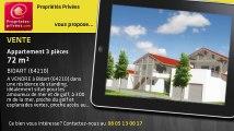 A vendre - appartement - BIDART (64210) - 3 pièces - 72m²