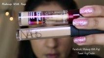 GRWM Metallic Silver smokey eyes for brown eyes tutorial || Makeup With Raji