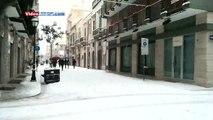 Neve ad Andria - (Via Regina Margherita)  - ore 13:30 circa del 31 dicembre 2014