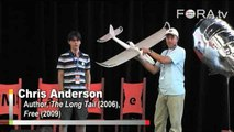 Wired's Chris Anderson Shows Off Unmanned Aerial Vehicle