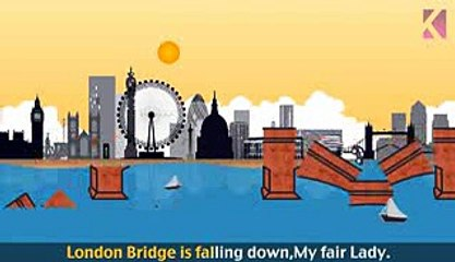 London Bridge Is Falling Down | Nursery Rhyme With Lyrics