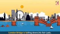 London Bridge Is Falling Down   Nursery Rhyme With Lyrics