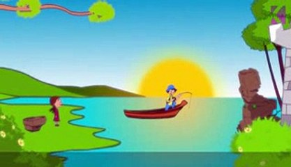 12345 Once I Caught A Fish Alive | Nursery Rhyme With Lyrics