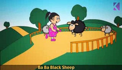 Baa Baa Black Sheep | Nursery Rhyme With Lyrics
