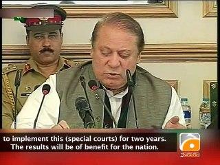 PM Nawaz Address at APC