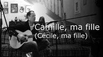 Cécile, ma fille - Claude Nougaro (Acoustic cover)