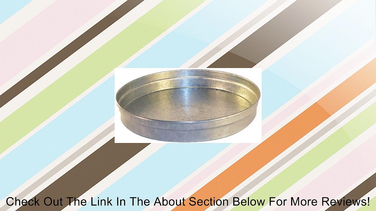 Speedi-Products SM-CAP 05 5-Inch Diameter Round Galvanized Caps Length Large End Review