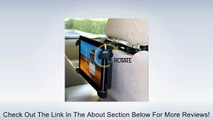 iKross Durable 180 Degree Rotation Car Mount Tablet Backseat Headrest Mount Holder for 7 ~ 10.2 inch Tablets: Apple iPad Air 2 /6 /4, 5 Air, iPad Mini 3 2 1, Acer Iconia Tab A3-A20, A1-840FHD, A1-830; ASUS ME103K, ME176C, ME181C, M81C TF103C, T100Ta, MeMO