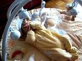 Ismaël sur son tapis d'éveil