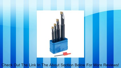 T&O Coolant Through Indexable Boring Bars Set - MODEL : A-SCLCR2 Minimum Bore: Assorted Review