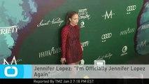 """Jennifer Lopez: """"I'm Officially Jennifer Lopez Again"""""""