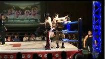 Novus (Yusuke Kodama & Koji Doi) vs. Yasufumi Nakanoue & Hiroki Murase