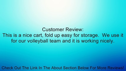FLAGHOUSE Volleyball Cart Review