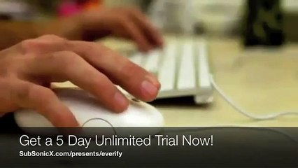 eVerify - Unlimited Background Checks - 5 Day Trial!