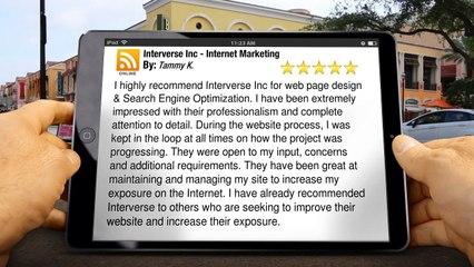 Interverse Inc - Internet Marketing Calgary Superb 5 Star Review by Tammy K.