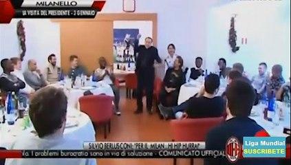 L'Urlo di Silvio Berlusconni per Alessio Cerci AC Milan
