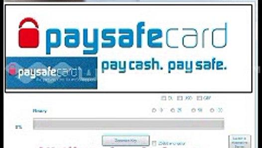 Kostenlos Paysafecard bekommen 2014 - PSC Generator - PSC