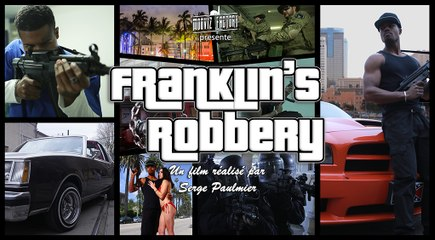 Franklin's Robbery - GTA V real life