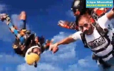 Karim Benzema se lanza en Paracaidas en Dubai   Parachutisme à Dubaï Real Madrid