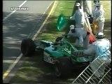 GP Australia, Melbourne 2000 ritiro di Irvine, De La Rosa e Verstappen