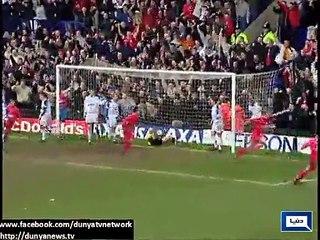 Steven Gerrard leaves Liverpool.