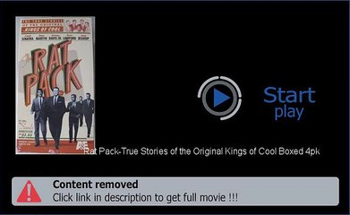 Download Rat Pack-True Stories of the Original Kings of Cool Boxed 4pk Movie In HD, DivX, DVD, Ipod