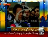On Monday NA-122 Results Will Prove Who Wins And Who Lost:- Imran Khan Media Talk After Reaching London