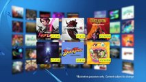 PlayStation Plus - PS Plus Games January 2015 Trailer - PS4 PS3 PS Vita