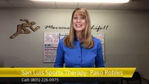 San Luis Sports Therapy- Paso Robles wellness coach 5 Star Review by Emily R.