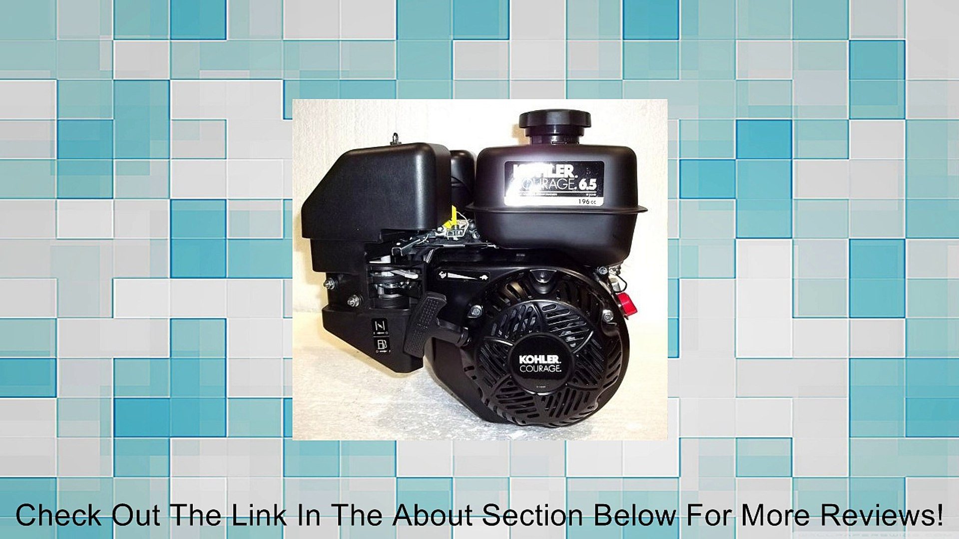 Kohler Courage Engine - 196cc, 3/4in. x 2 7/16in. Shaft, Model#  PA-SH265-3011 Review - Video Dailymotion