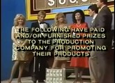 Spring 1985 nighttime Sale of the Century partial credits (B)