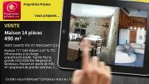 A vendre - maison - PORT SAINTE FOY ET PONCHAPT (33220) - 14 pièces - 490m²
