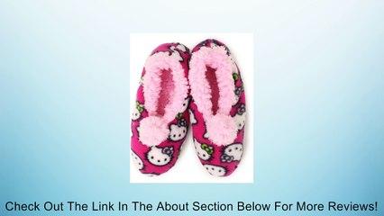 Hello Kitty Junior's Slipper Sock, Fuschia, Small Review