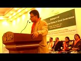 Ayaz Latif Palijo Speech Dialogue on Role Of Political Parties In Good Governance at Indus Hotel Hyd, 1/3