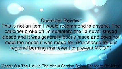 Silver Tone Portable Alloy Cigarette Ashtray w Key Ring Review