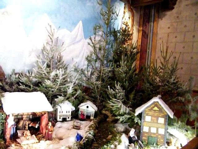 Crêche de Noël 2014 en la Basilique de Notre Dame de Marceille de Limoux (AUDE)