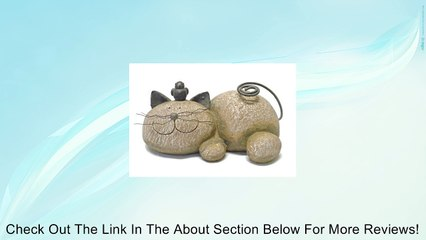 Resting Cat Stone Whimsical Garden Accent-Lightweight Resin Review