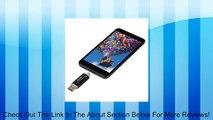 Onite 32G (Black) CoolFlash Dual Purpose USB Flash Drive for Samsung Galaxy S4 / S3 / S2 / Galaxy Note / Note 2 3 / Galaxy Tab 3 / LG Optimus G G2 Nexus 4 5 / L9 / Motorola Xoom / Razr / Blackberry Z10 / Q10 / PlayBook / HTC One / X / Nokia Lumia 920 520