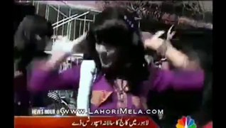 Punjab College Girls Dancing On Sports Day
