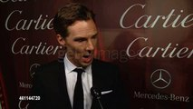 Benedict Cumberbatch at the 26th Annual Palm Springs International Film Festival Awards Gala Presented By Cartier INTERVIEW