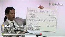 Colson Whitehead Breaks Down Eighties Black Slang