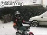 Pocket bike on ice bad quality