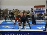 Hiroshi Tanahashi/Masahiro Chono/Yuji Nagata/Yutaka Yoshie vs Mike Barton/Scott Norton/Shinya Makabe/Yoshihiro Takayama (New Japan July 19th, 2003)