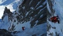 Goulotte Lafaille Mont-Blanc du Tacul Chamonix Mont-Blanc massif