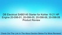 NEW STARTER SOLENOID JOHN DEERE MOWER FRONT F620 F680 F687 KOHLER 25