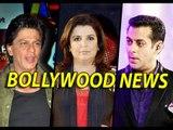 Bollywood News & Gossips - Farah Khan Is Planning A  50-CRORE Film With Shahrukh Khan   4th Jan.2015