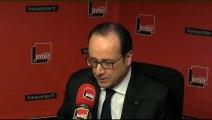 """François Hollande : """"J'ai demandé à Michel Sapin de travailler pour 2016 à la taxe sur les transactions financières"""""""